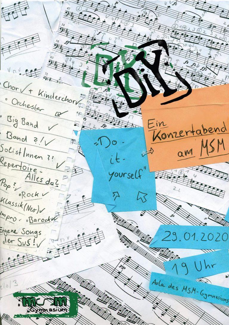 DIY – Do It Yourself! Ein Konzertabend am MSM